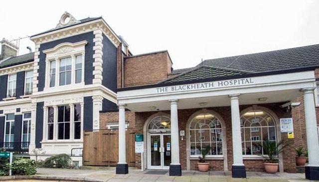 Front of Blackheath Hospital