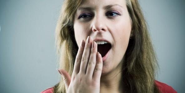 Lady Yawning